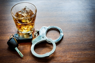 Whiskey, car keys, and handcuffs - DUI in Michigan
